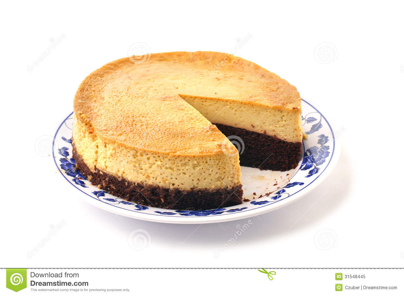 Chocolate Flan Royalty Free Stock Photo - Image: 31548445