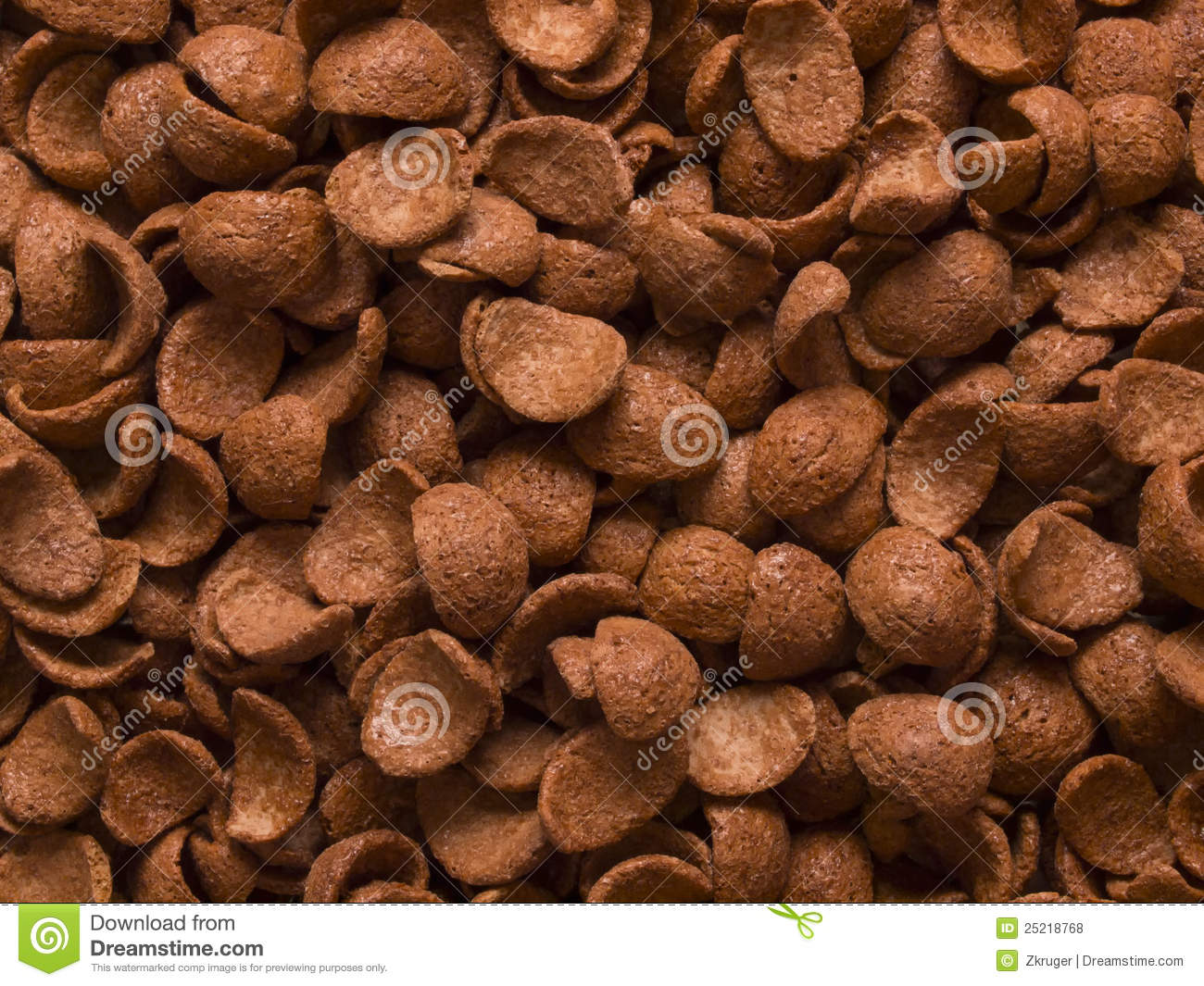 Chocolate Flavored Cereal Stock Photos - Image: 25218783