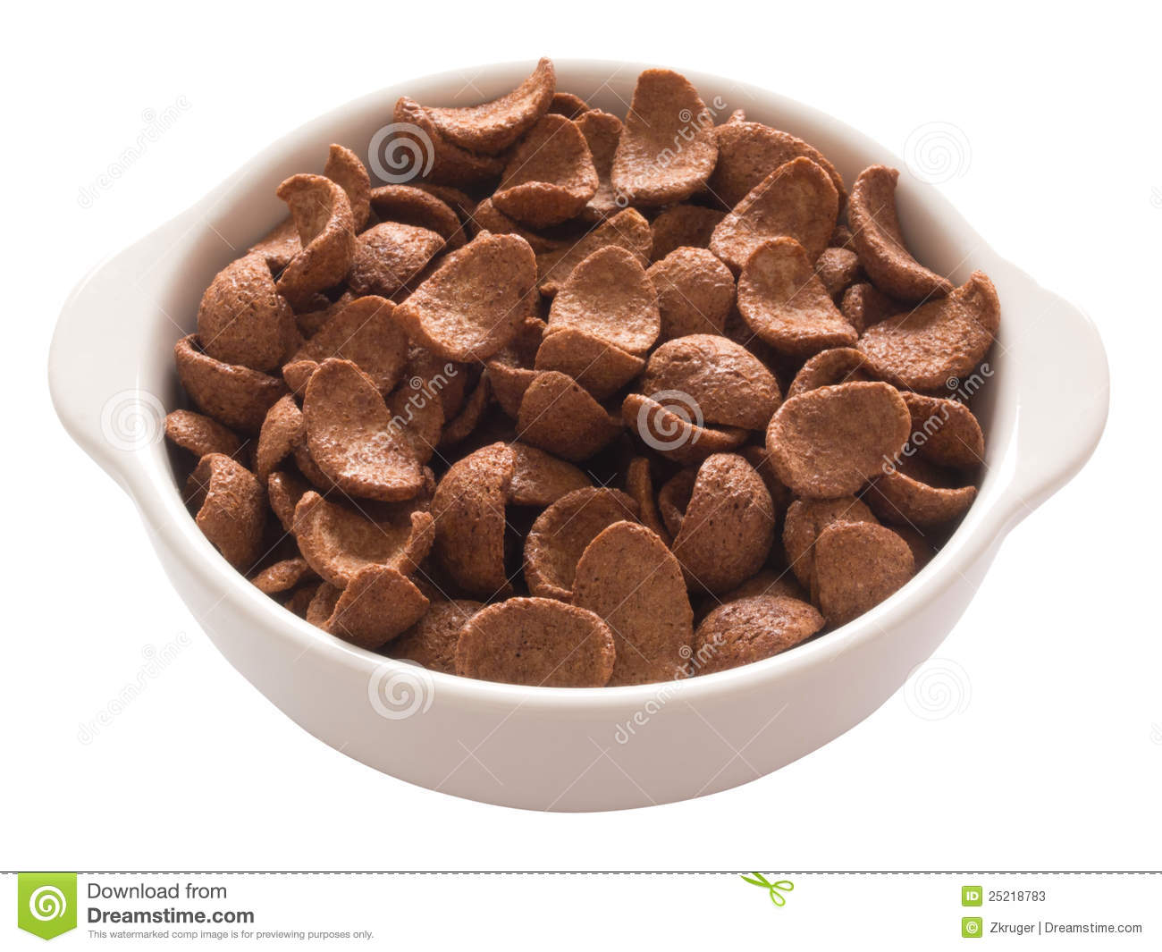Chocolate Flavored Cereal Stock Photos - Image: 25218773