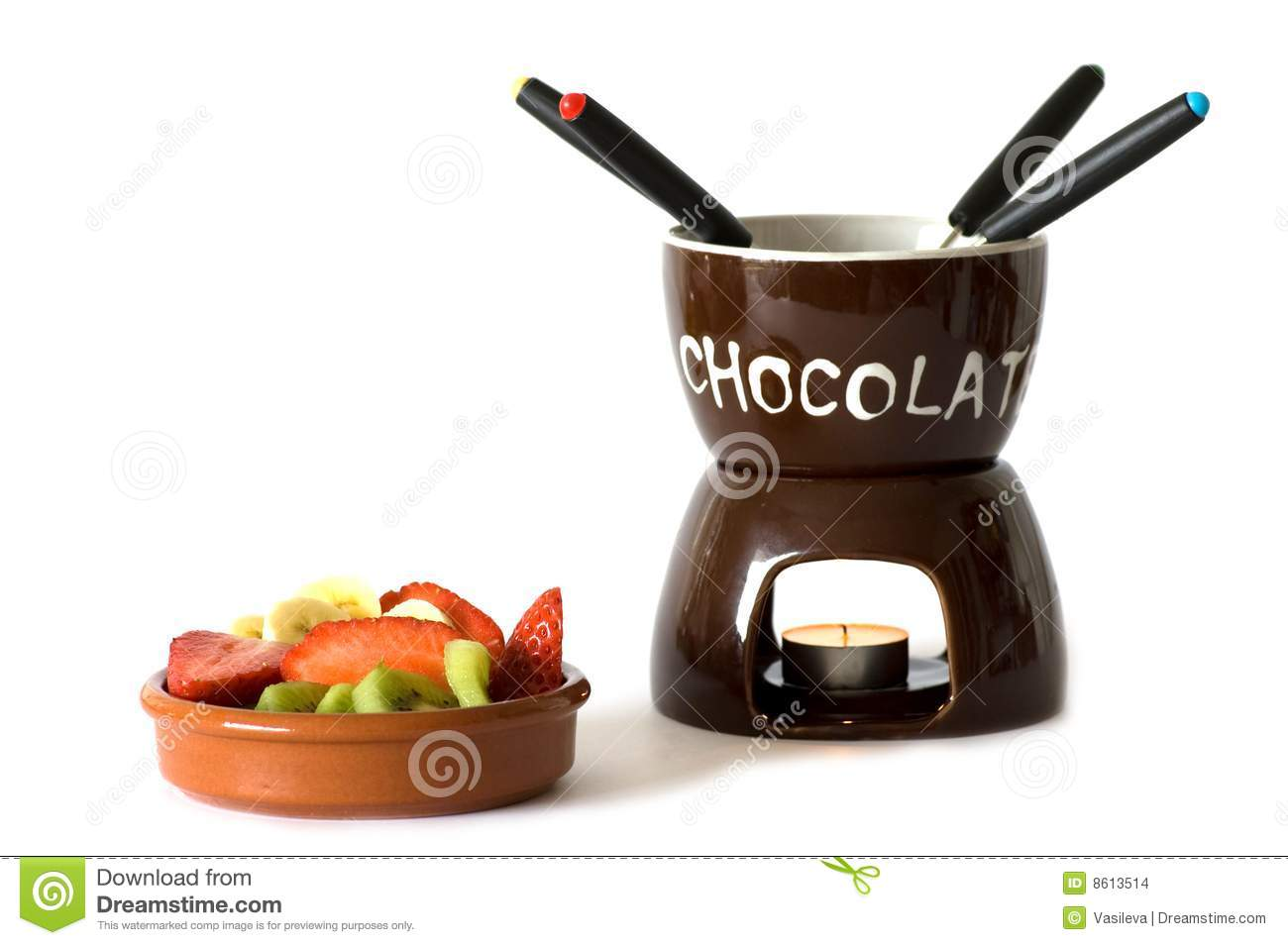 Chocolate Fondue Stock Images - Image: 8613514