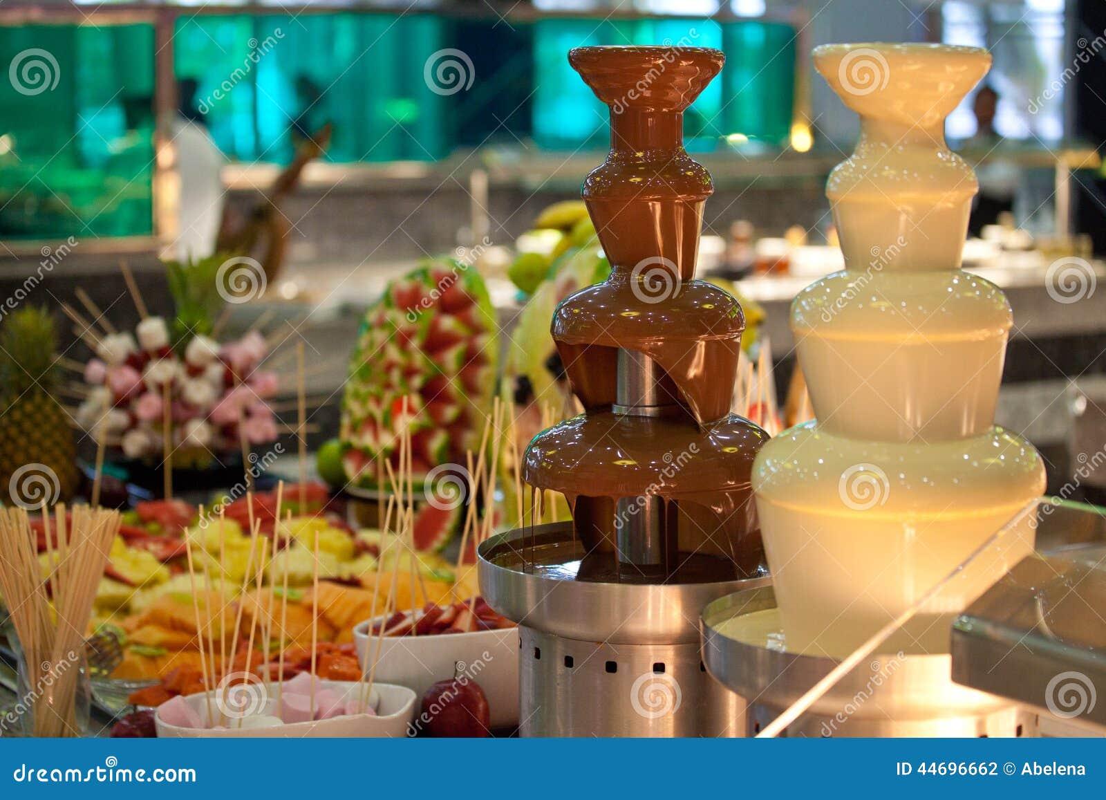 Chocolate Fondue Stock Photo - Image: 44696662