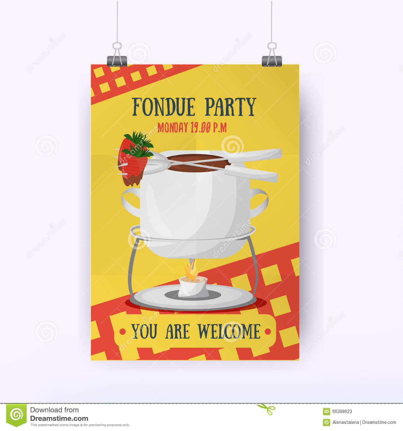 Fondue Illustrations 324 Fondue Illustrations – Fondue Party Invitations
