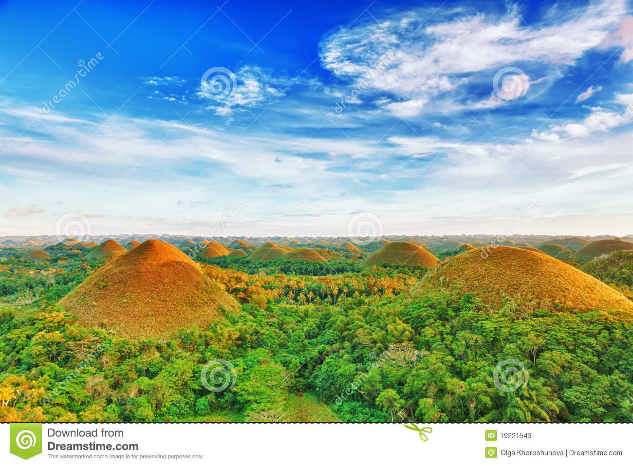 Chocolate Hills Stock ...