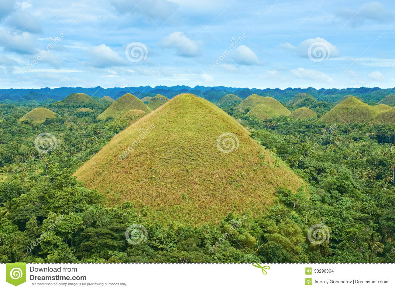The Chocolate Hills Of...