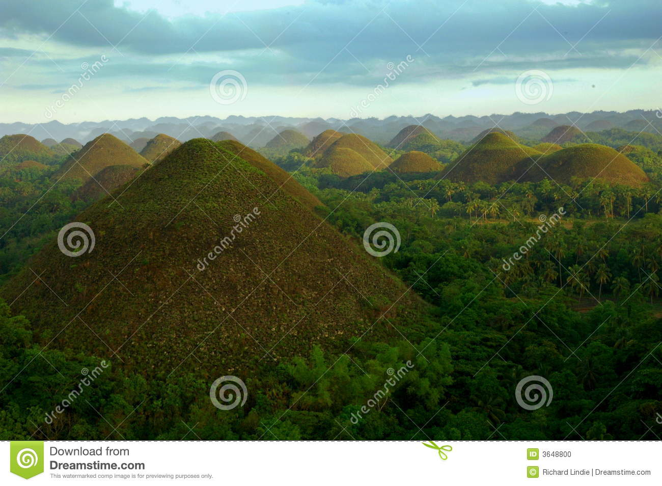 Chocolate Hills In The...