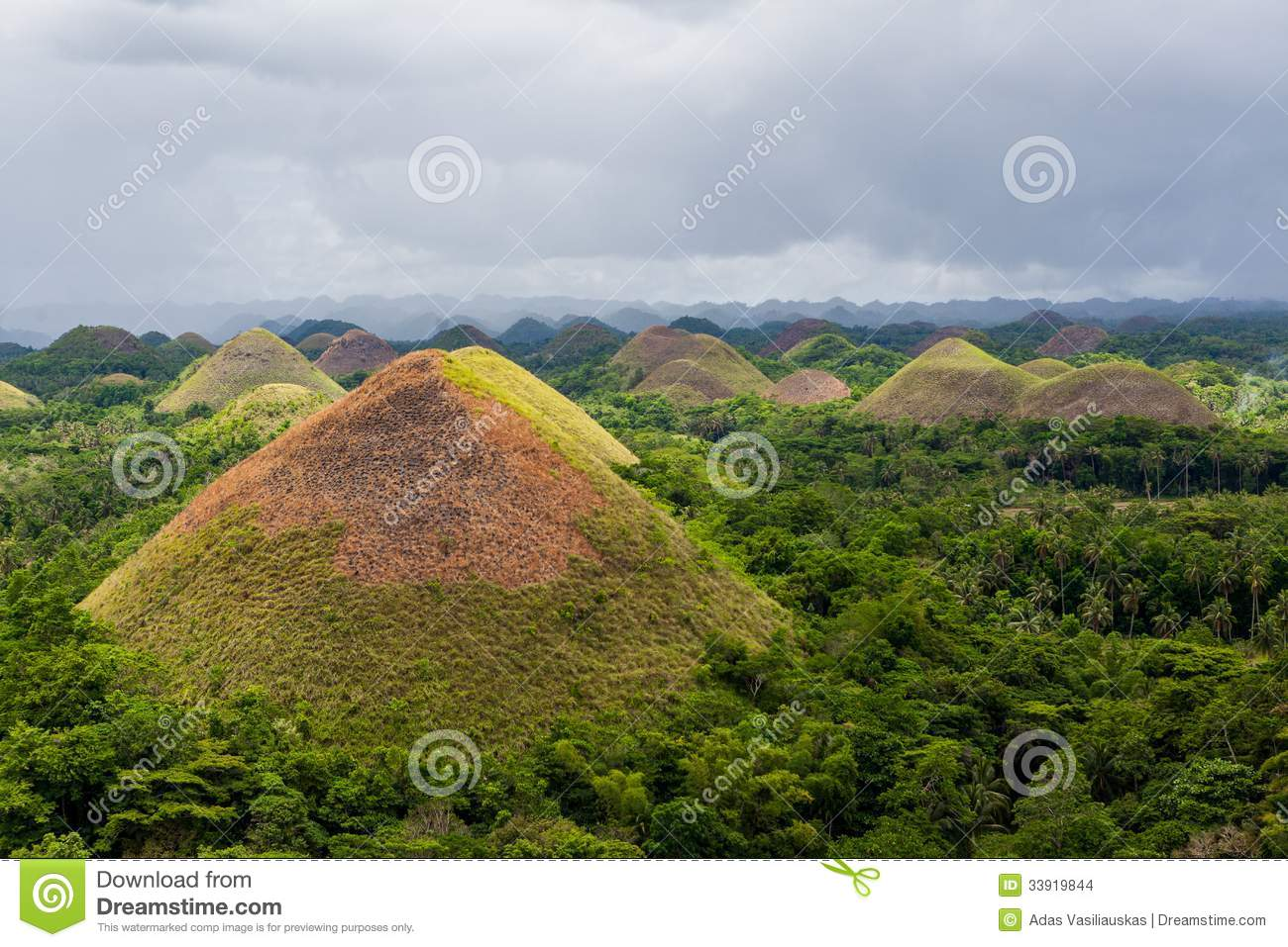 Chocolate Hills In Phi...