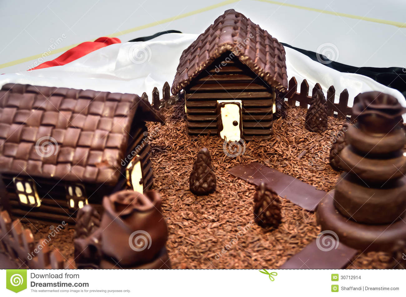 Chocolate House Stock Images - Image: 30712914