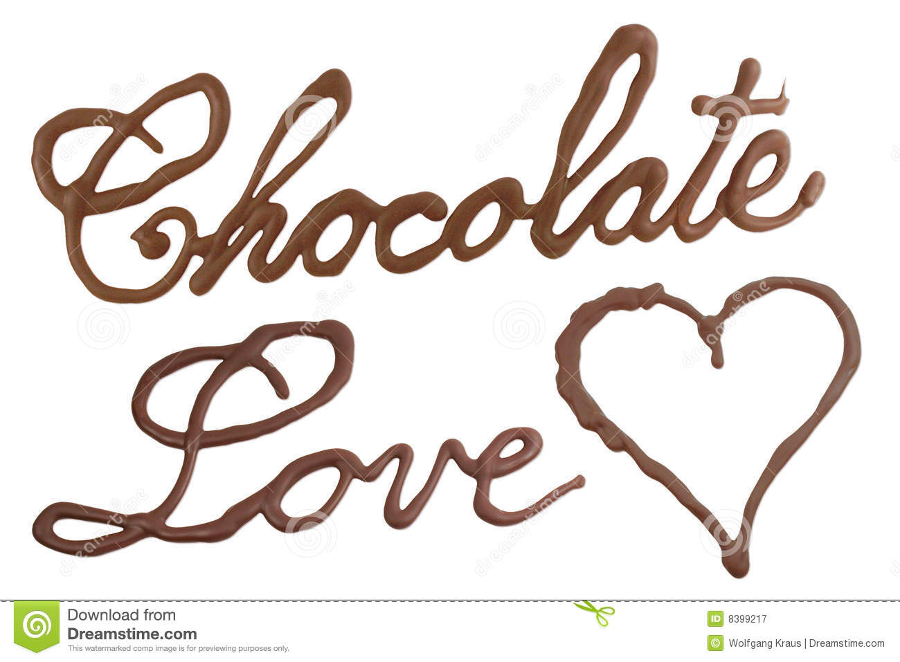 Chocolate Love Royalty Free Stock Photography Image 8399217