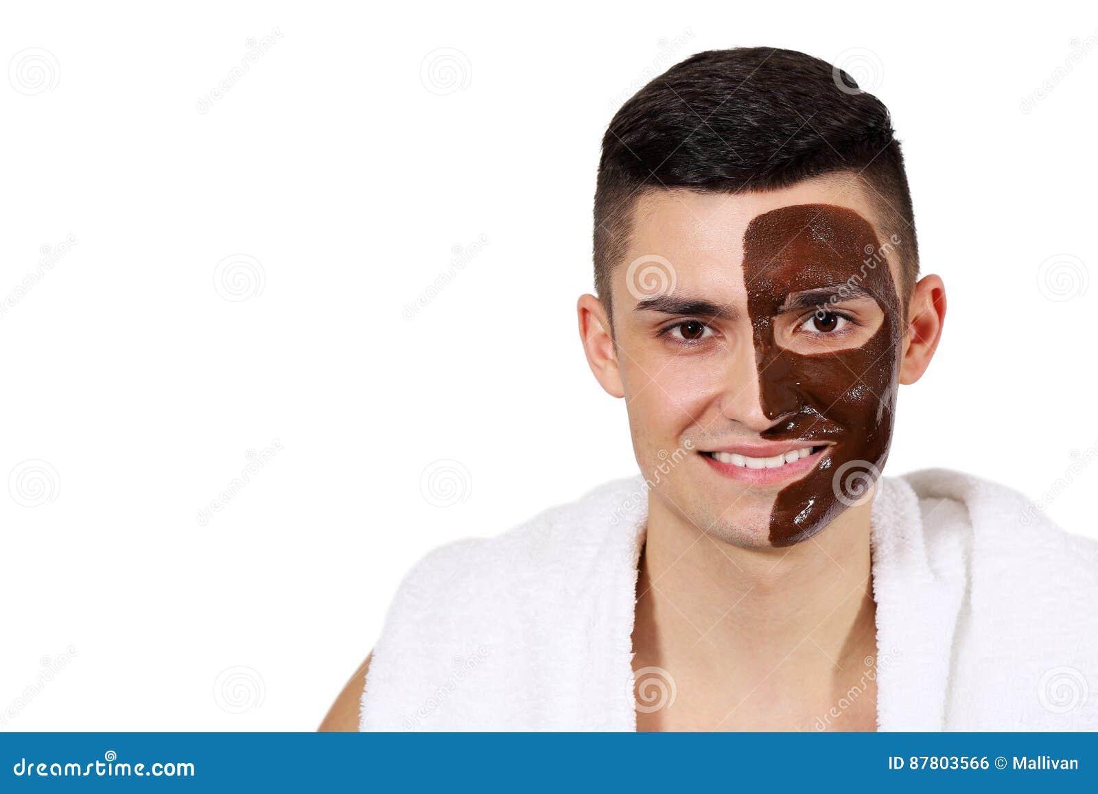 Idea and chocolate facial for men