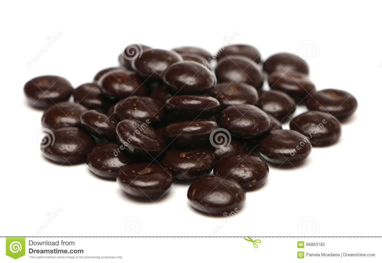 Chocolate Mint Candies Stock Photo - Image: 66863182