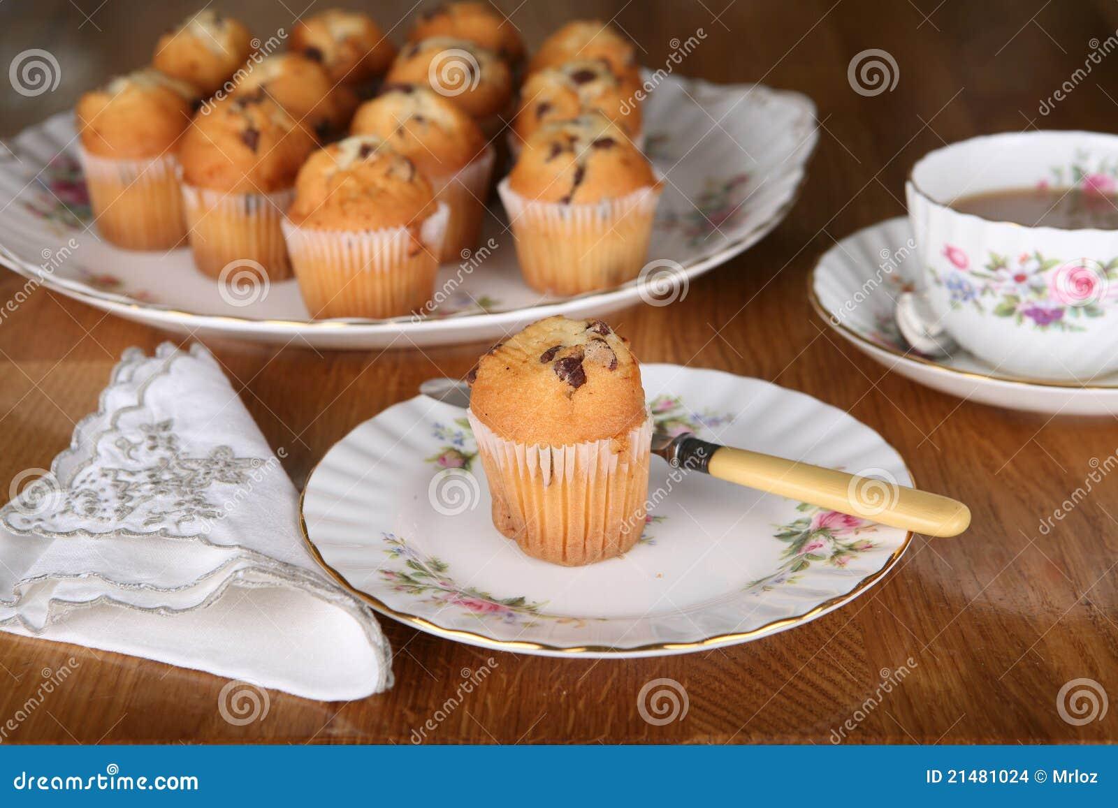 Chocolate Muffin for tea