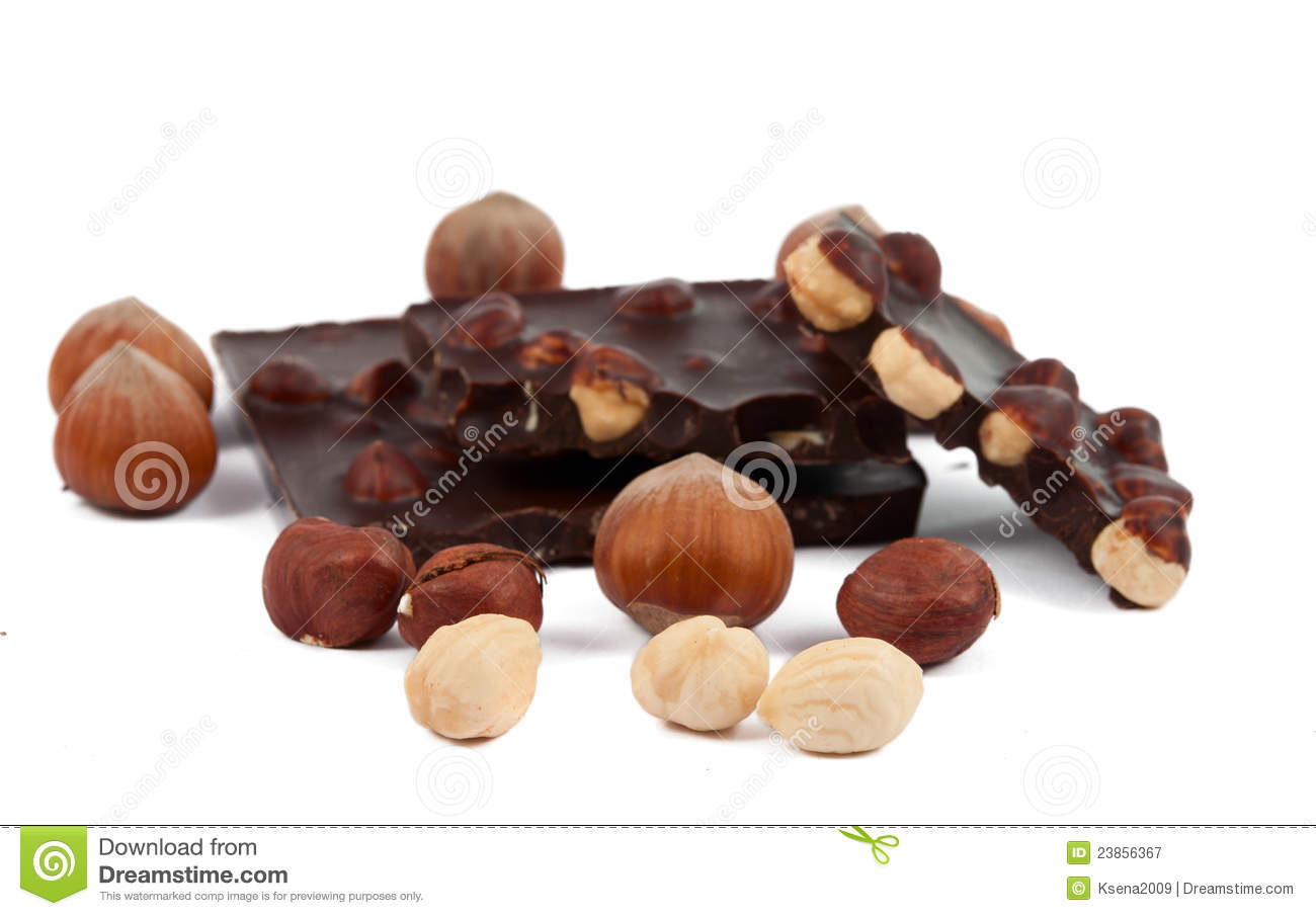 Chocolate With Nuts Royalty Free Stock Photography - Image: 23856367