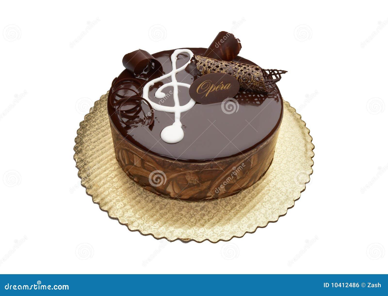 Chocolate Opera Cake Stock Photo Image Of Indulgence
