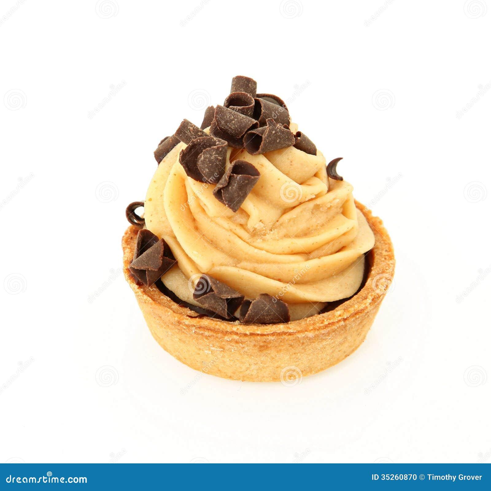 Chocolate Peanut Butter Tart Stock Photo - Image: 35260870