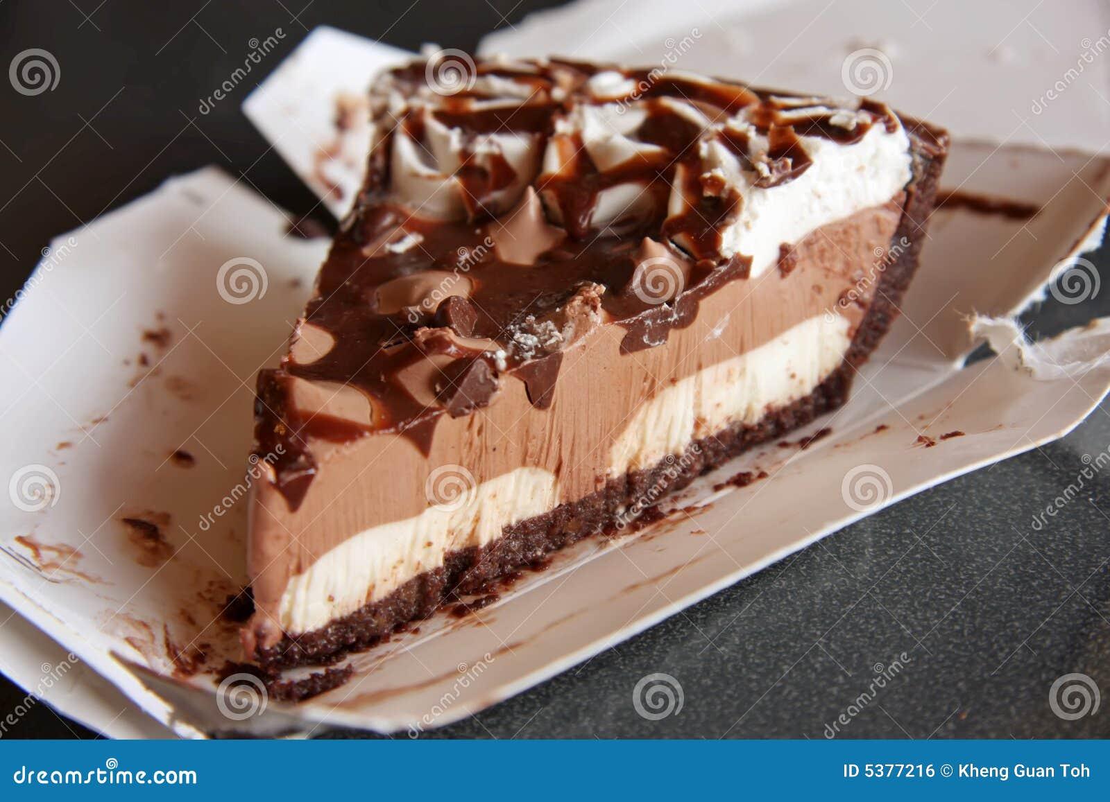 Chocolate Pie Royalty Free Stock Image - Image: 5377216