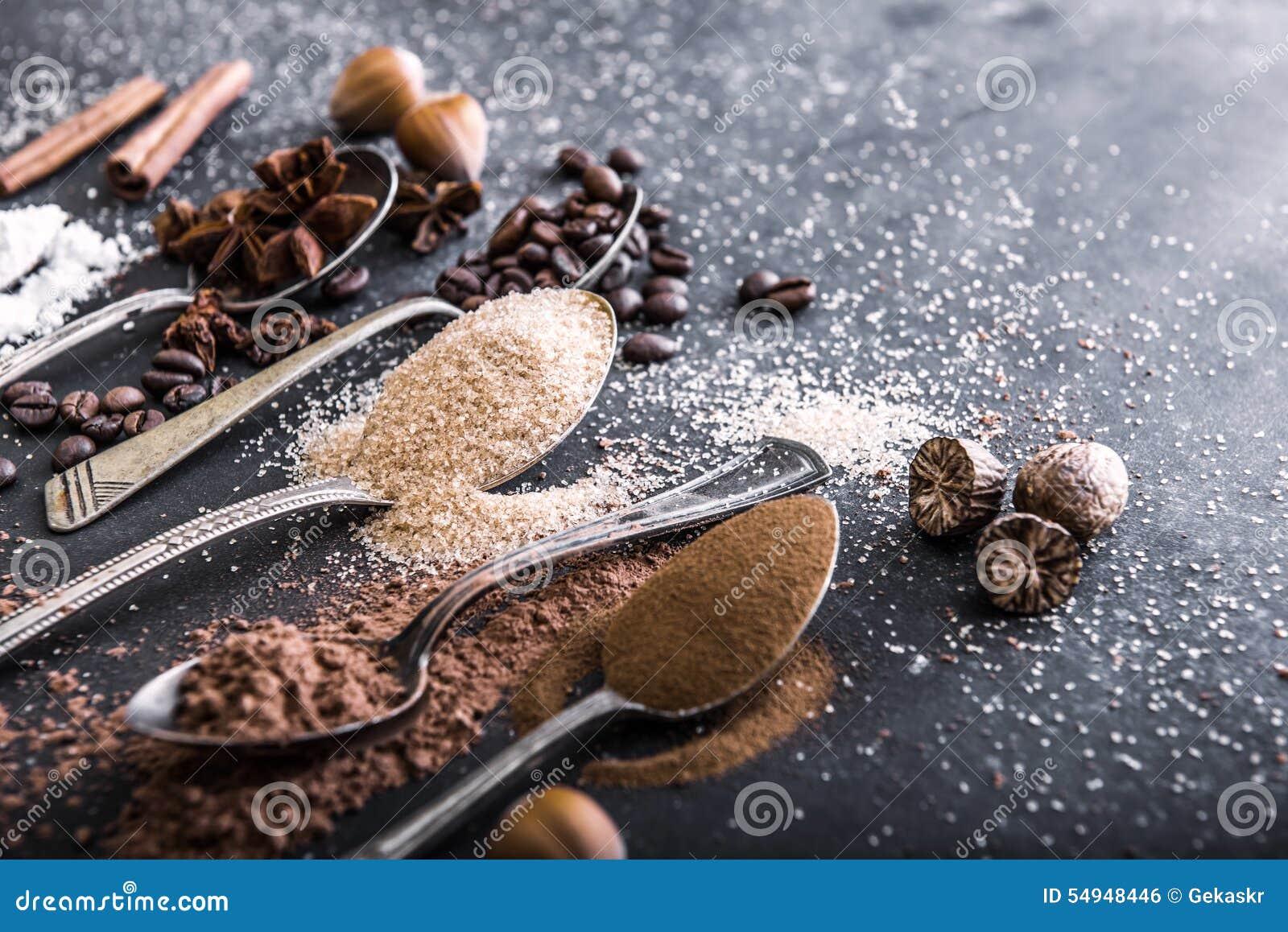 Chocolate powder cocoa