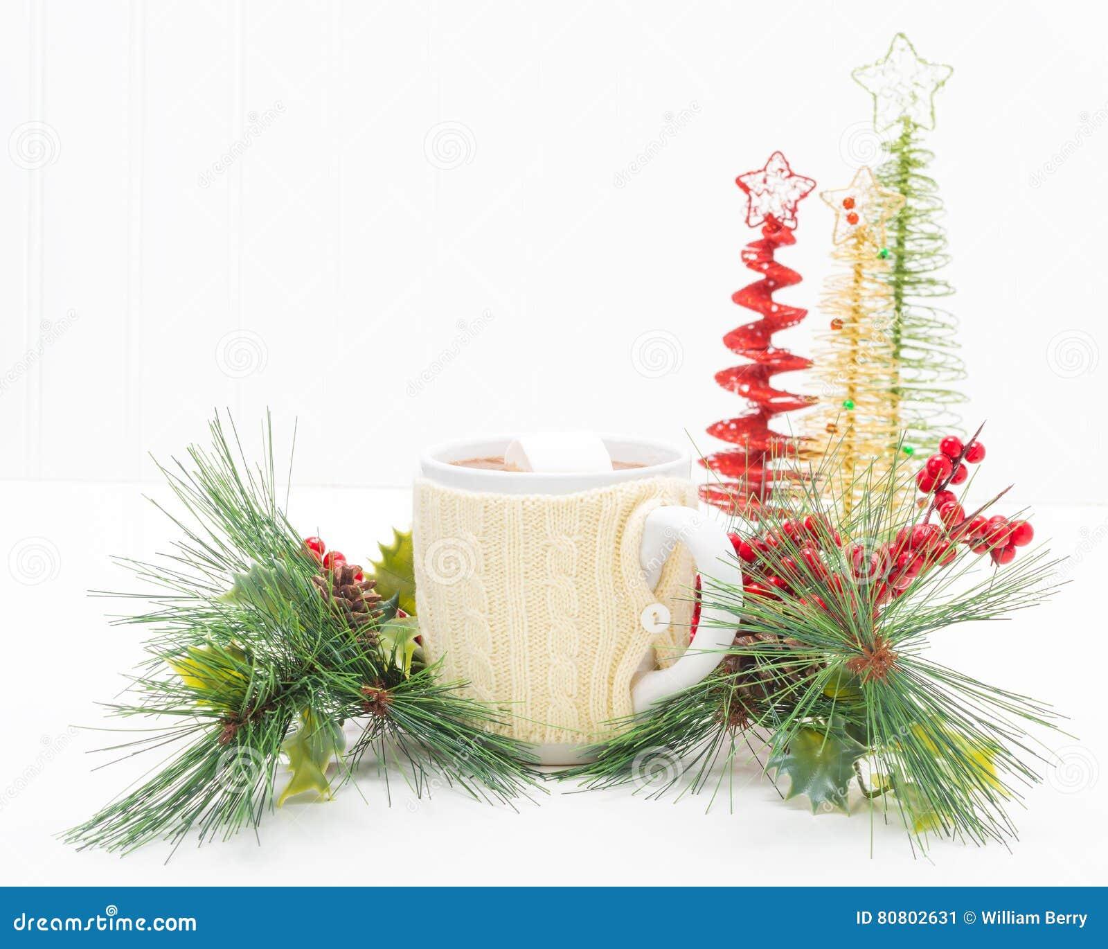 Chocolate quente do Natal