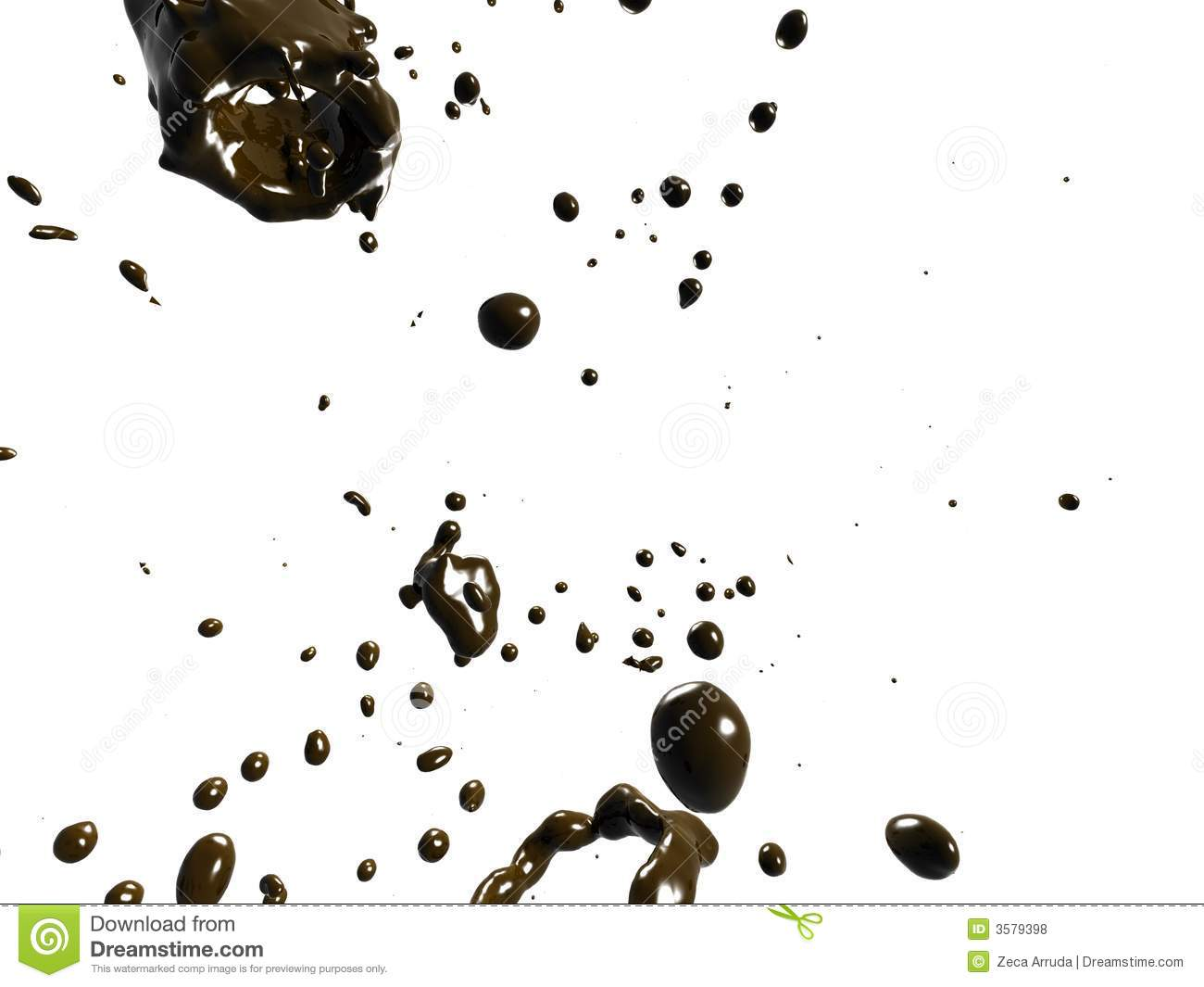 Chocolate Rain Royalty Free Stock Photos - Image: 3579398