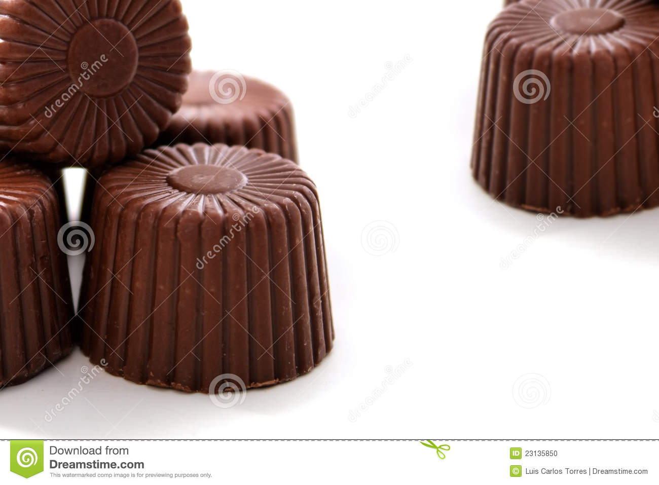 Chocolate redondeado