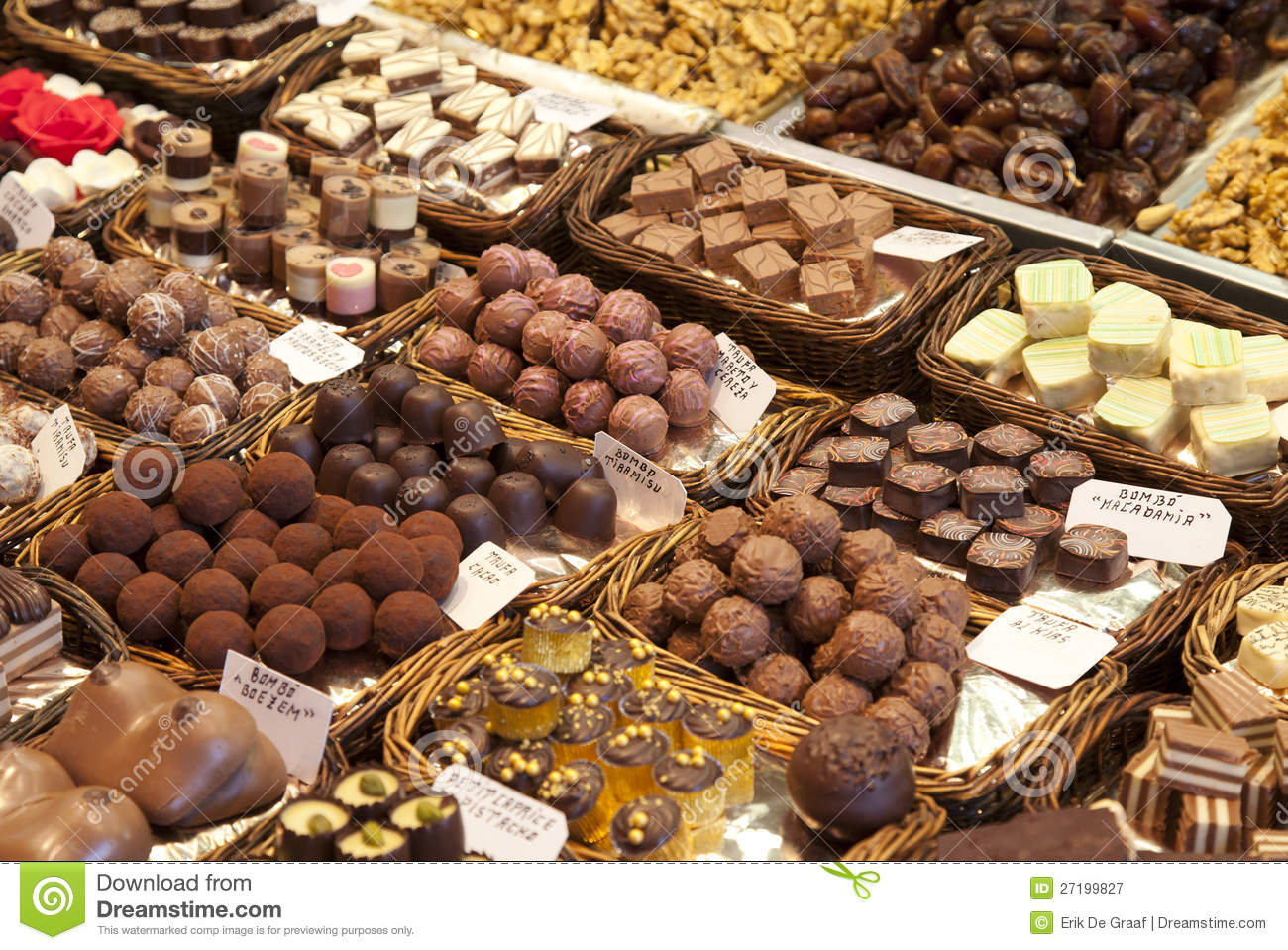 Chocolate Store Royalty Free Stock Photography - Image: 27199827