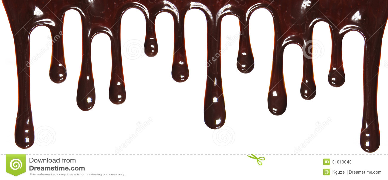 Chocolate Strea... Dripping Chocolate Background