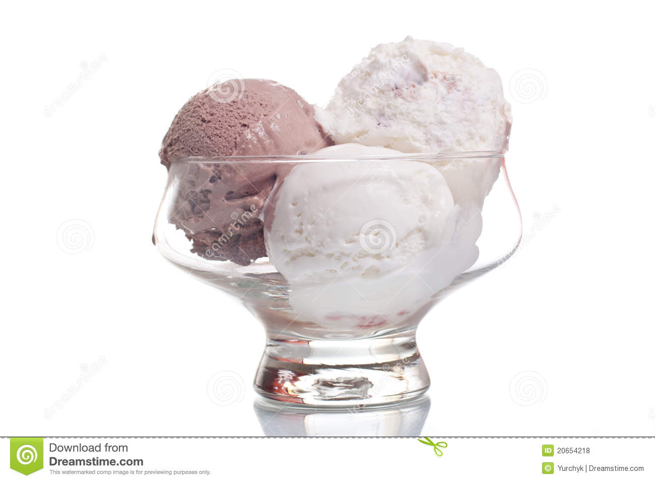 Chocolate And Vanilla Ice Cream Royalty Free Stock Photos ...
