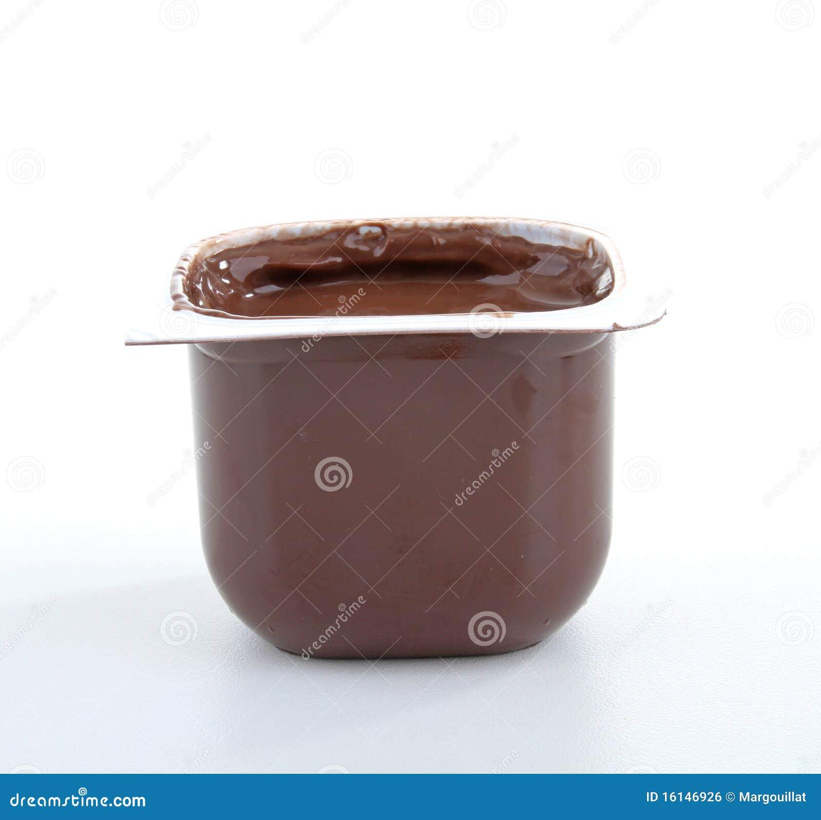 Chocolate Yogurt Royalty Free Stock Image - Image: 16146926