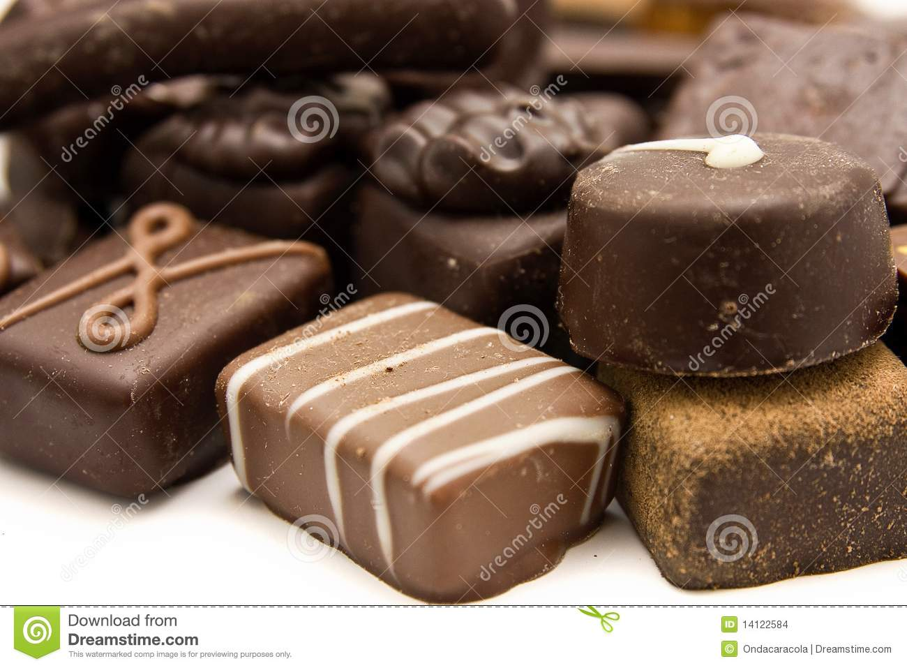 Different Types Sweets Stock Photos, Images, & Pictures - 194 Images