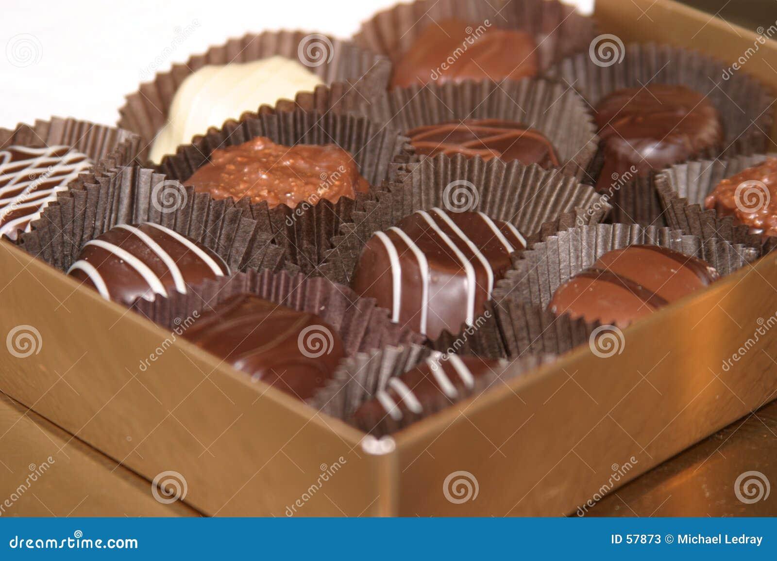 Chocolates 2 de la tarjeta del día de San Valentín