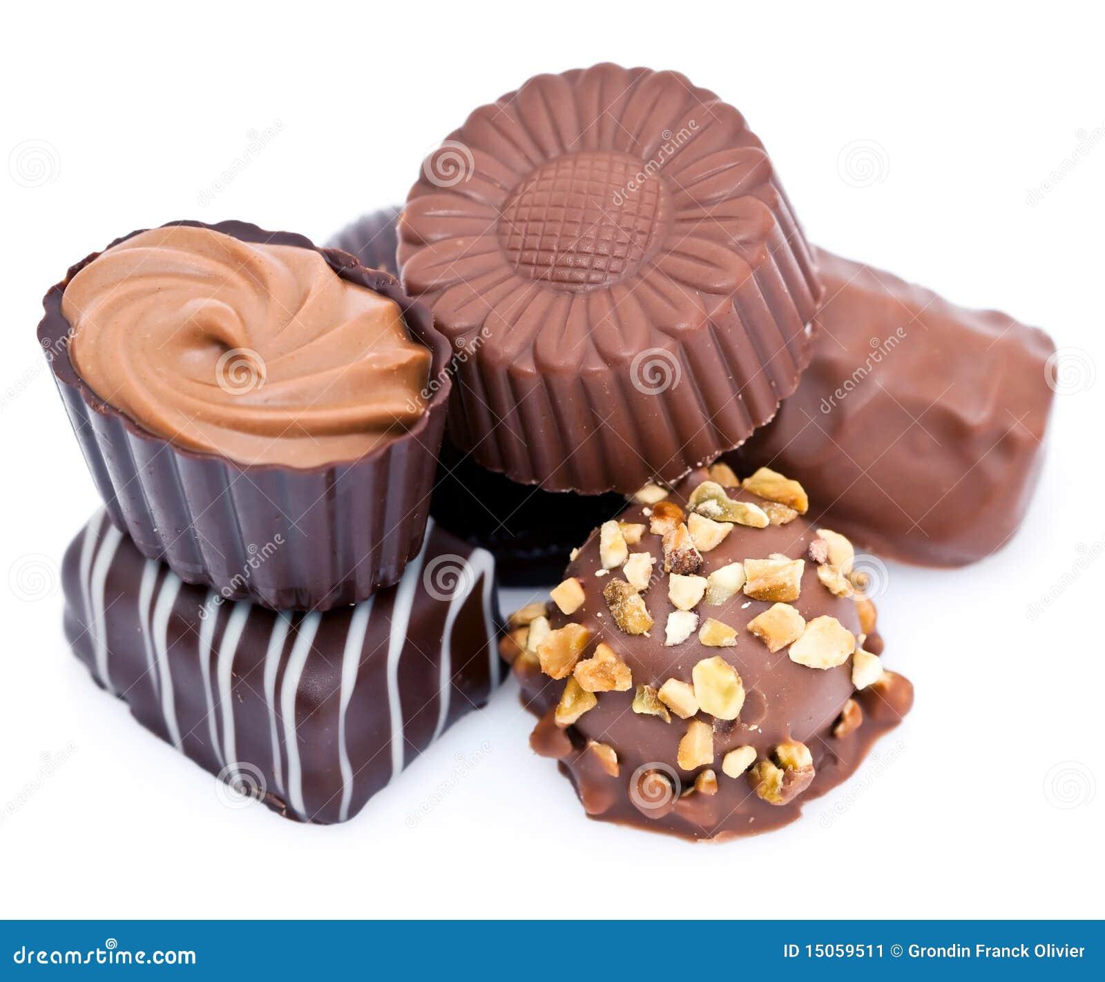 Chocolates luxuosos