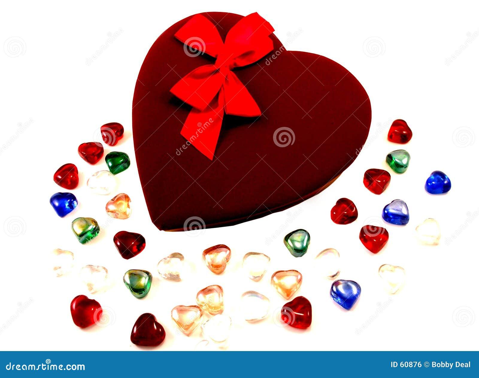 Download Chocolats de Valentine photo stock. Image du valentines - 60876