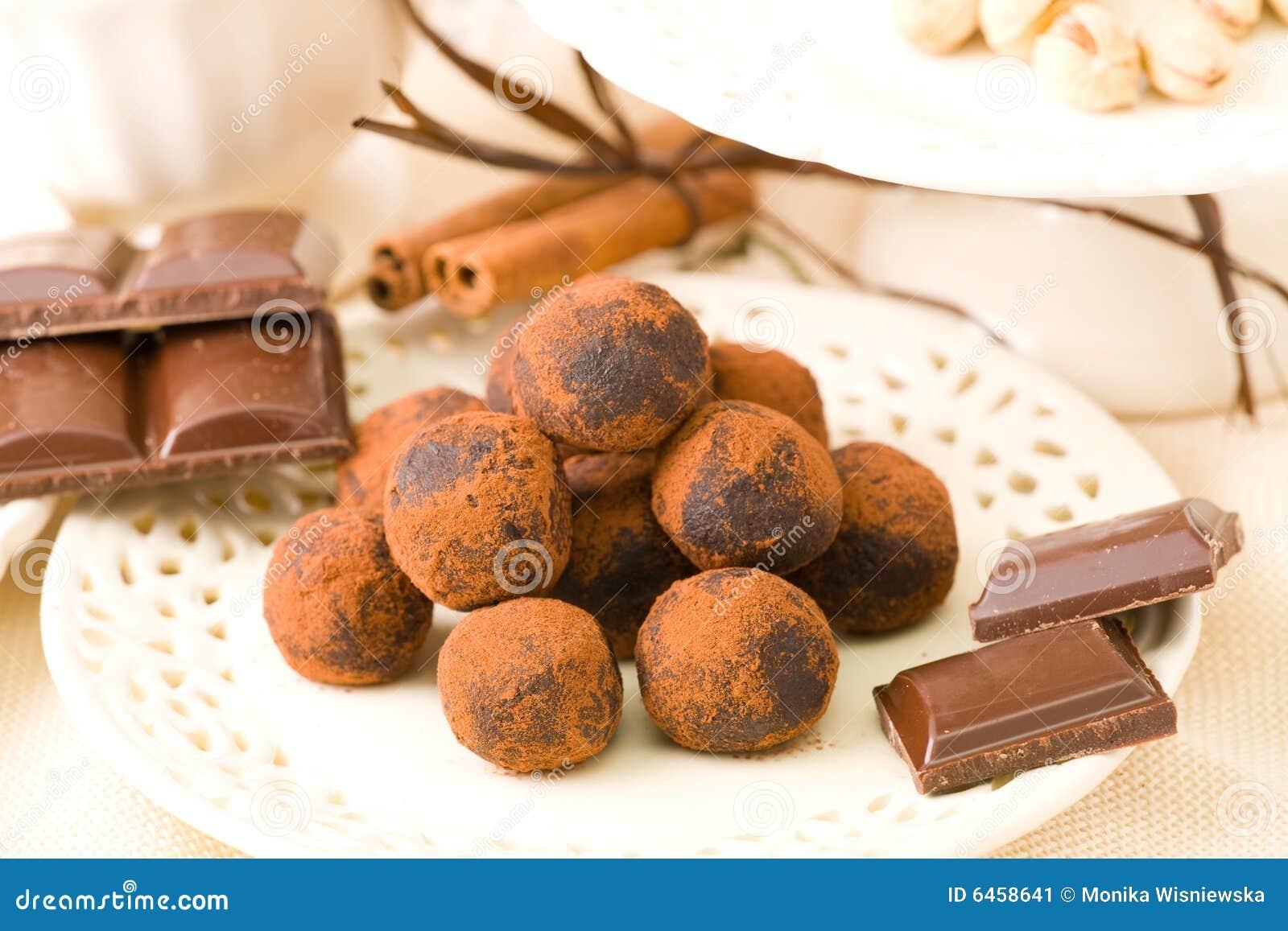 Chocolats fabriqués à la main