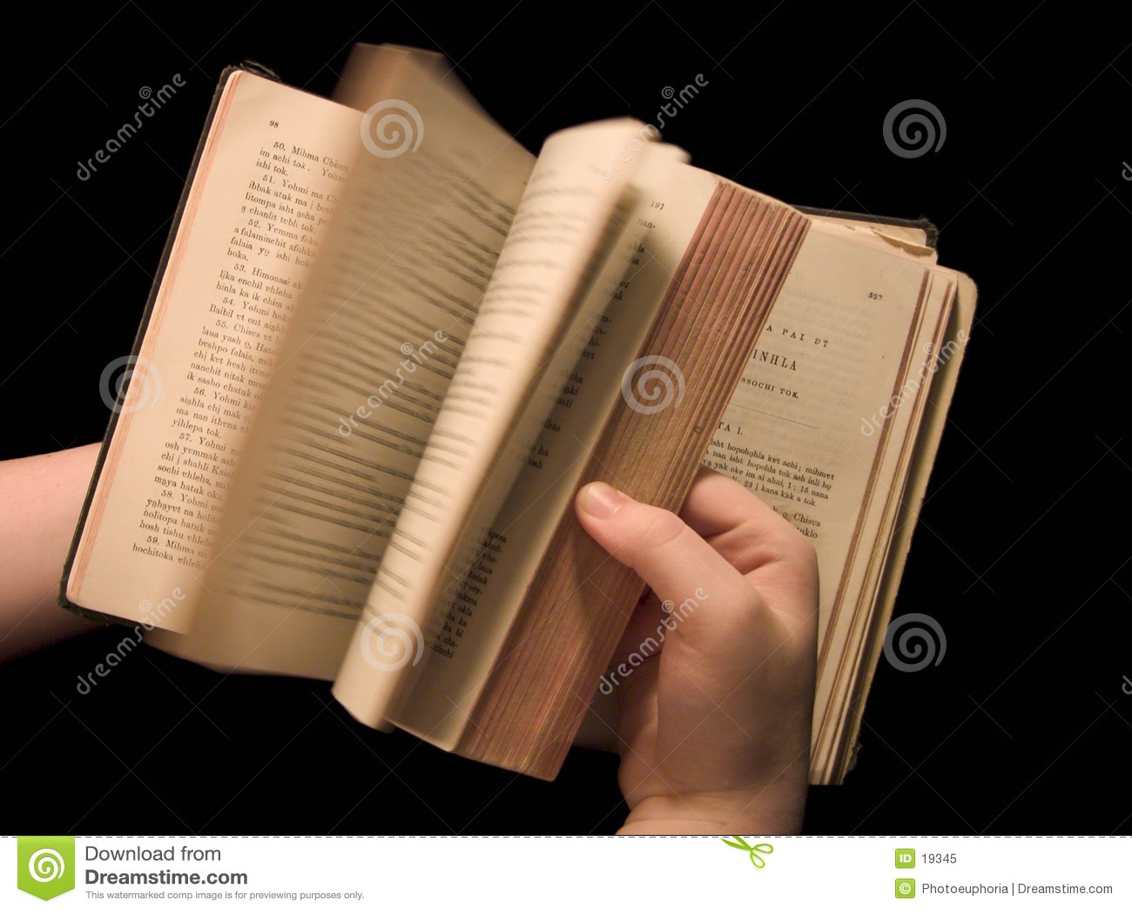 Choctaw pages att vända för testament