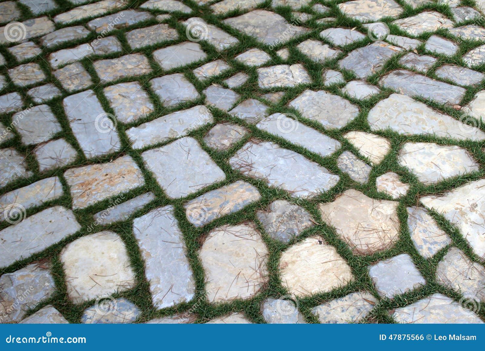 Zupełnie nowe Chodnik Tła Kamienia Konsystencja Zdjęcie Stock - Obraz złożonej z PV82