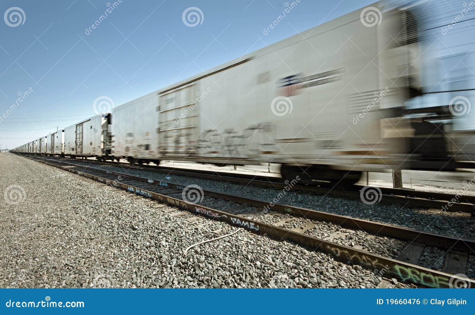Chodzenie frachtowy pociąg