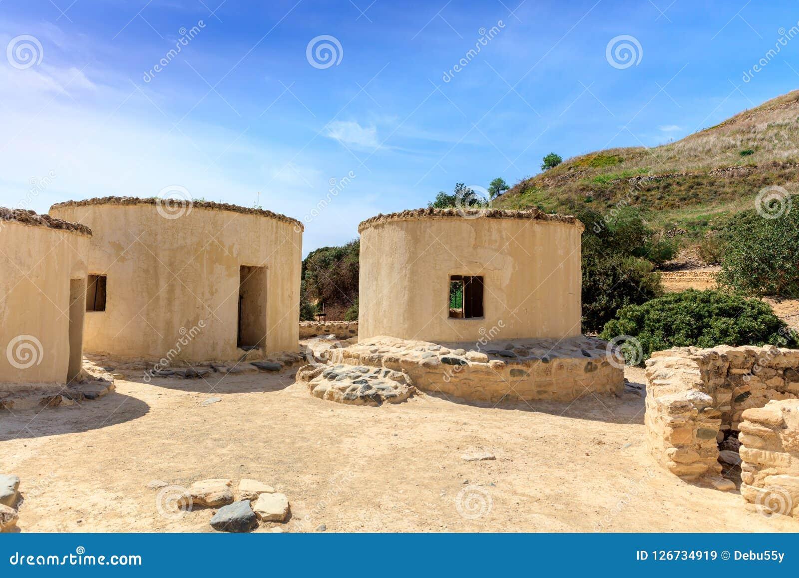 Choirokoitia的新石器时代的解决在塞浦路斯