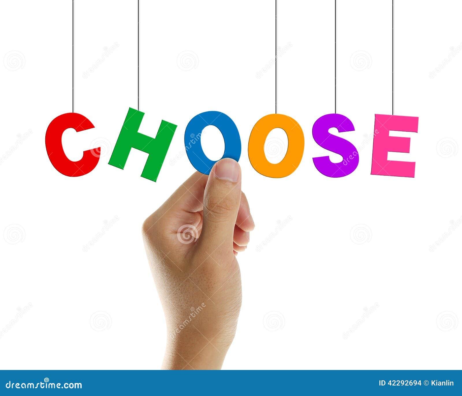 Choisissez