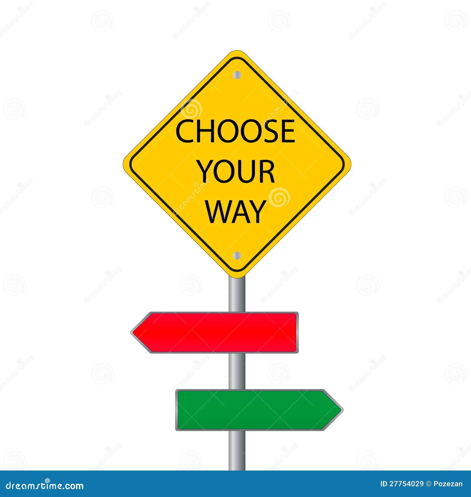 Choisissez votre voie