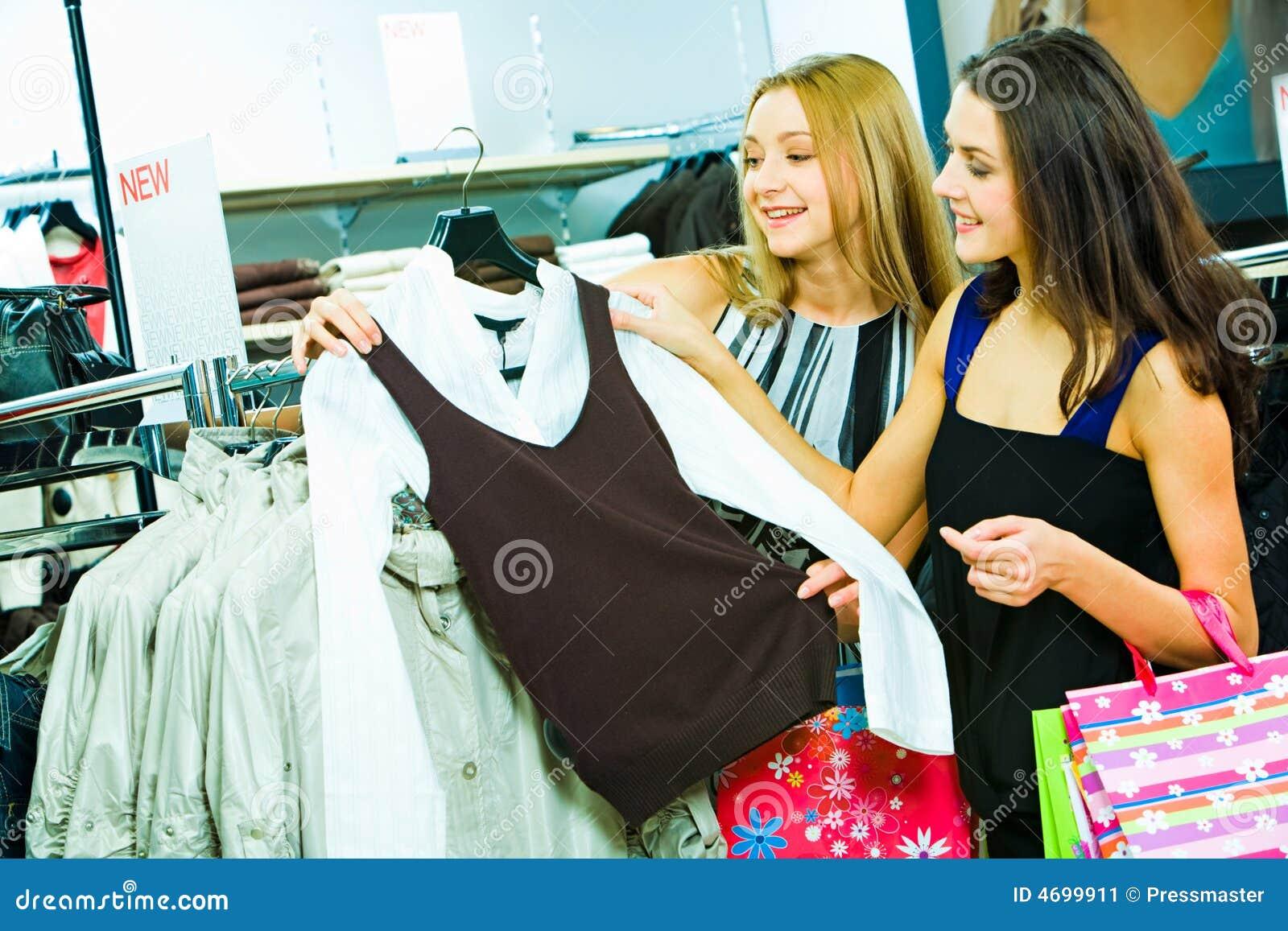 Choix des vêtements neufs