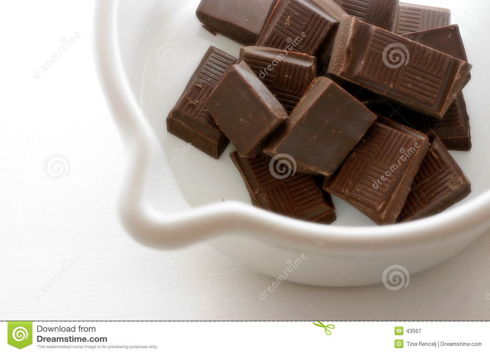 Choklad varmt I som förbereder sig
