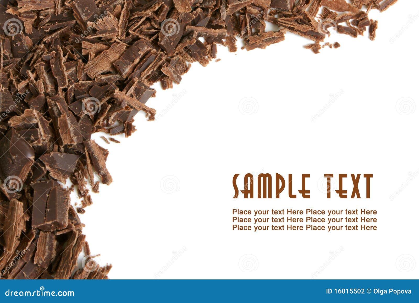 Chokladdarkshavings