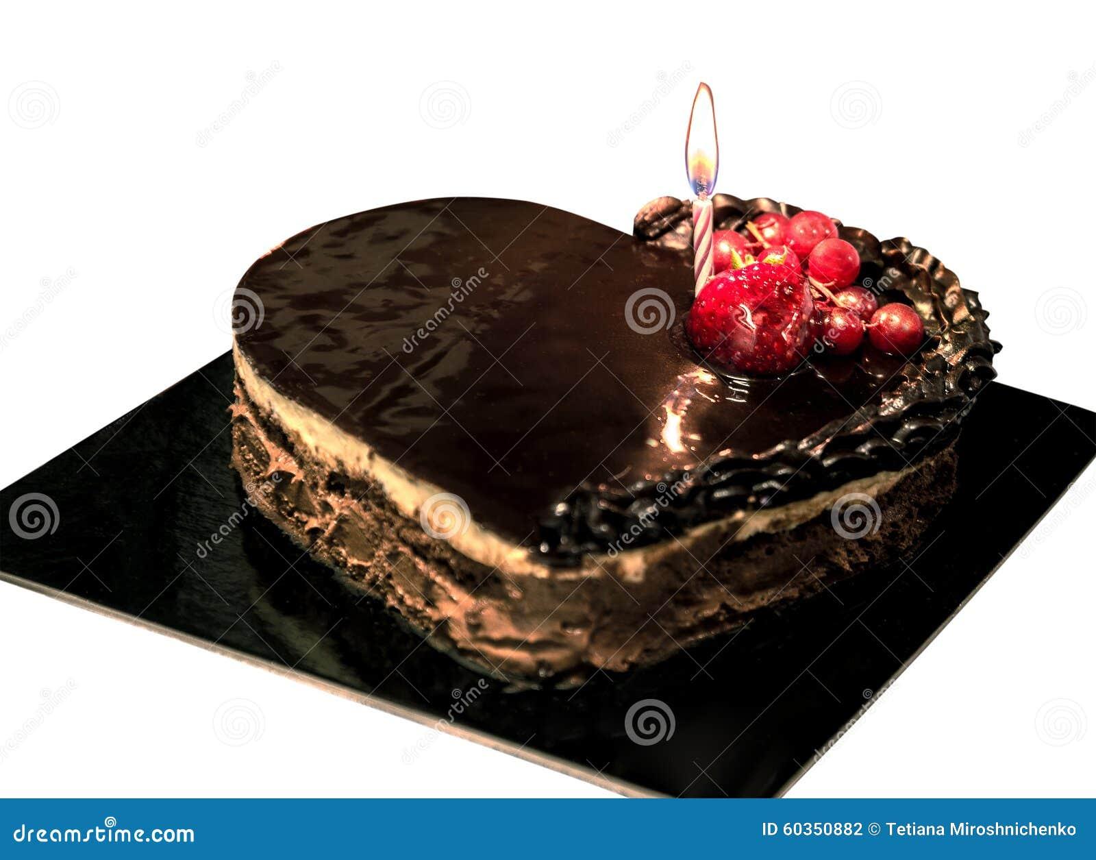 chokolate kuchen mit frucht stockfoto bild 60350882. Black Bedroom Furniture Sets. Home Design Ideas