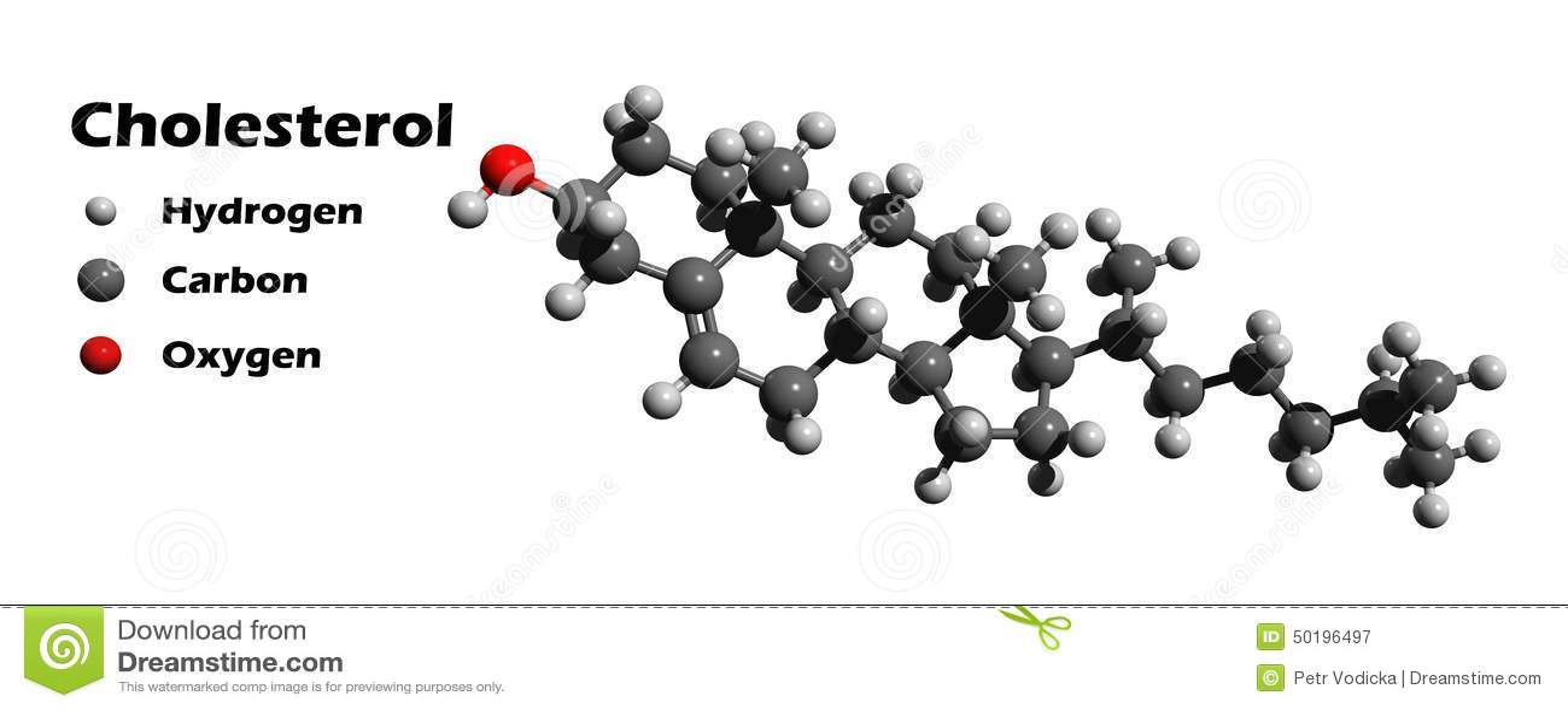 cholesterol d molecular structure 50196497