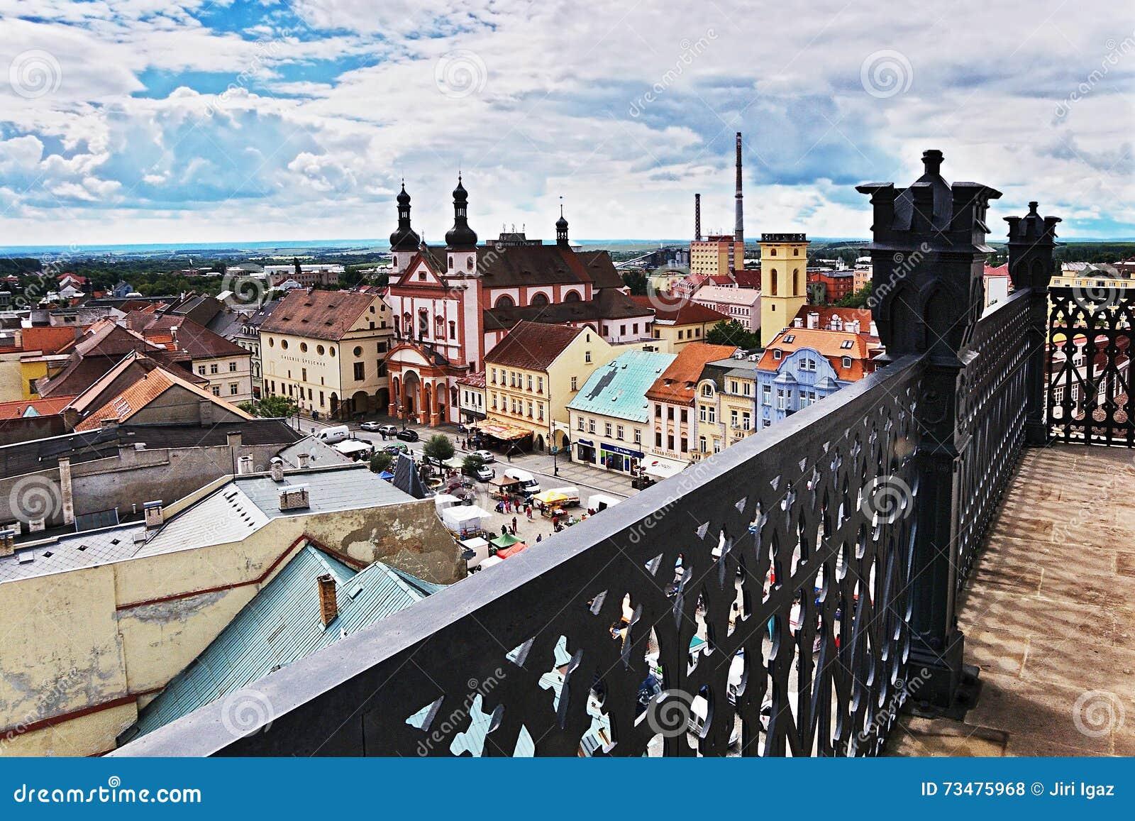 2016/06/18 Chomutov市,捷克共和国-摆正'Namesti 1 Maje