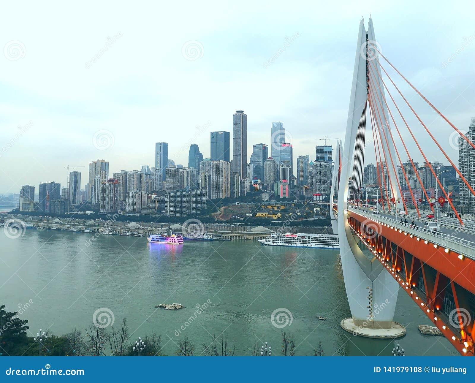chongqing,bridge, changjiang, yangtz river