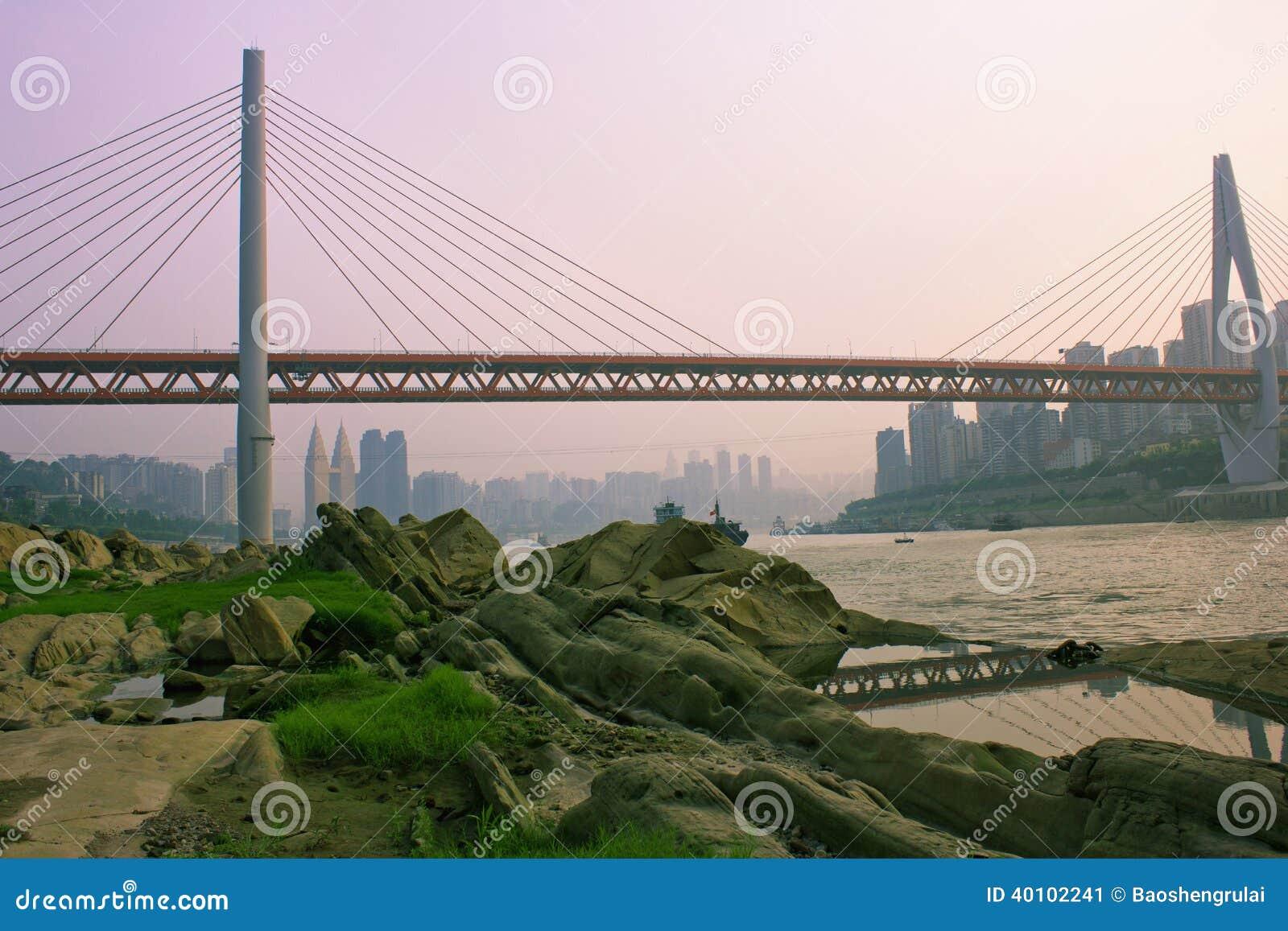 Chongqing DongShuiMen Yangtze River Bridge