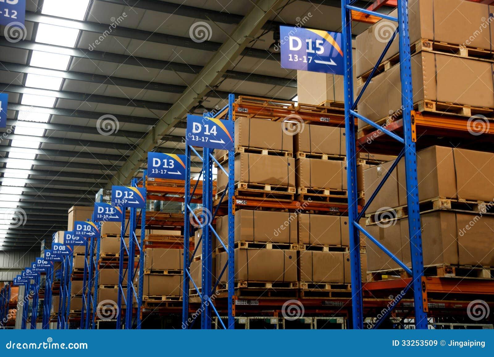 Chongqing Minsheng Logistics Auto Parts-Lager