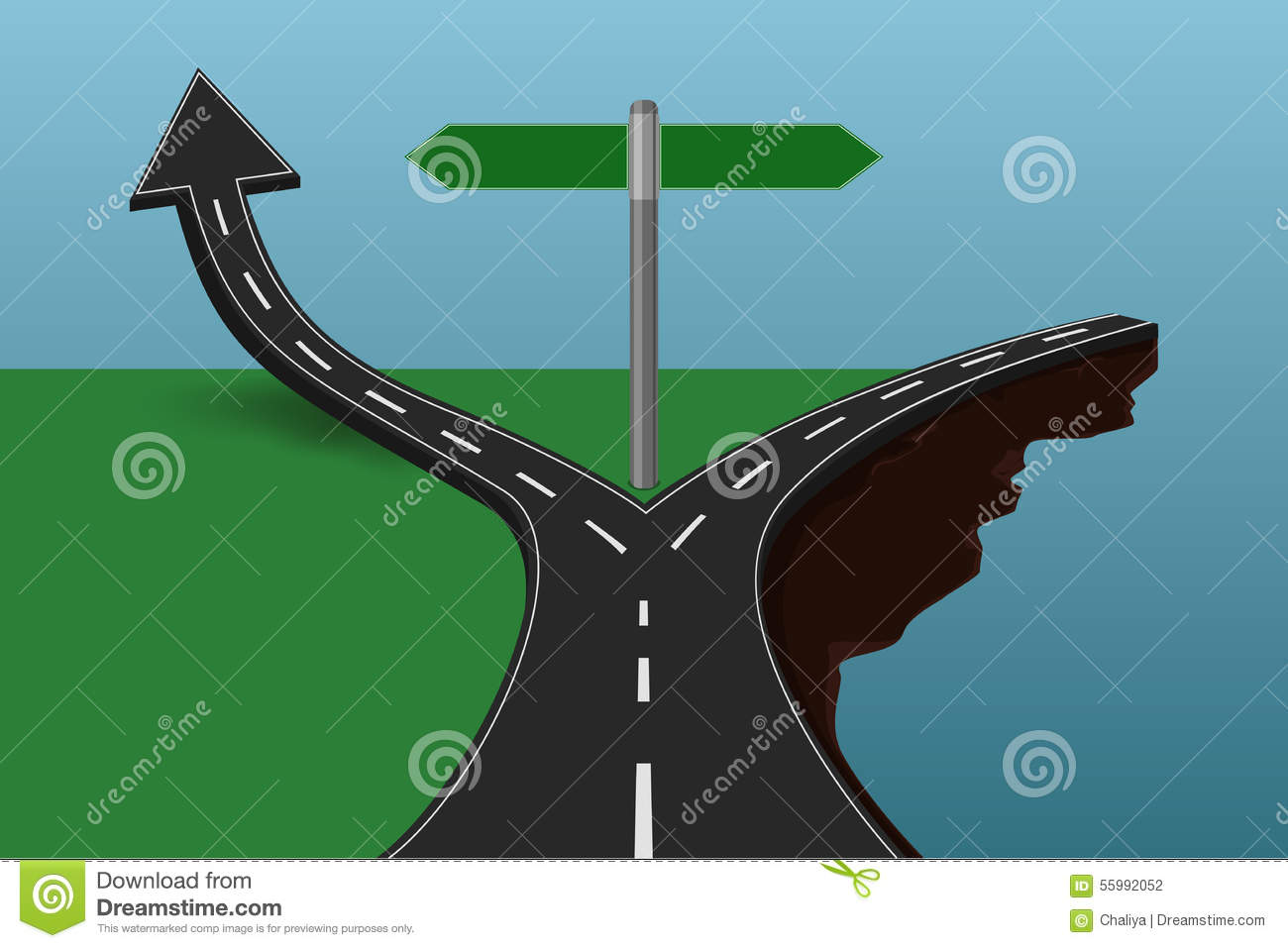 choose the correct or incorrect way concept stock photo image of