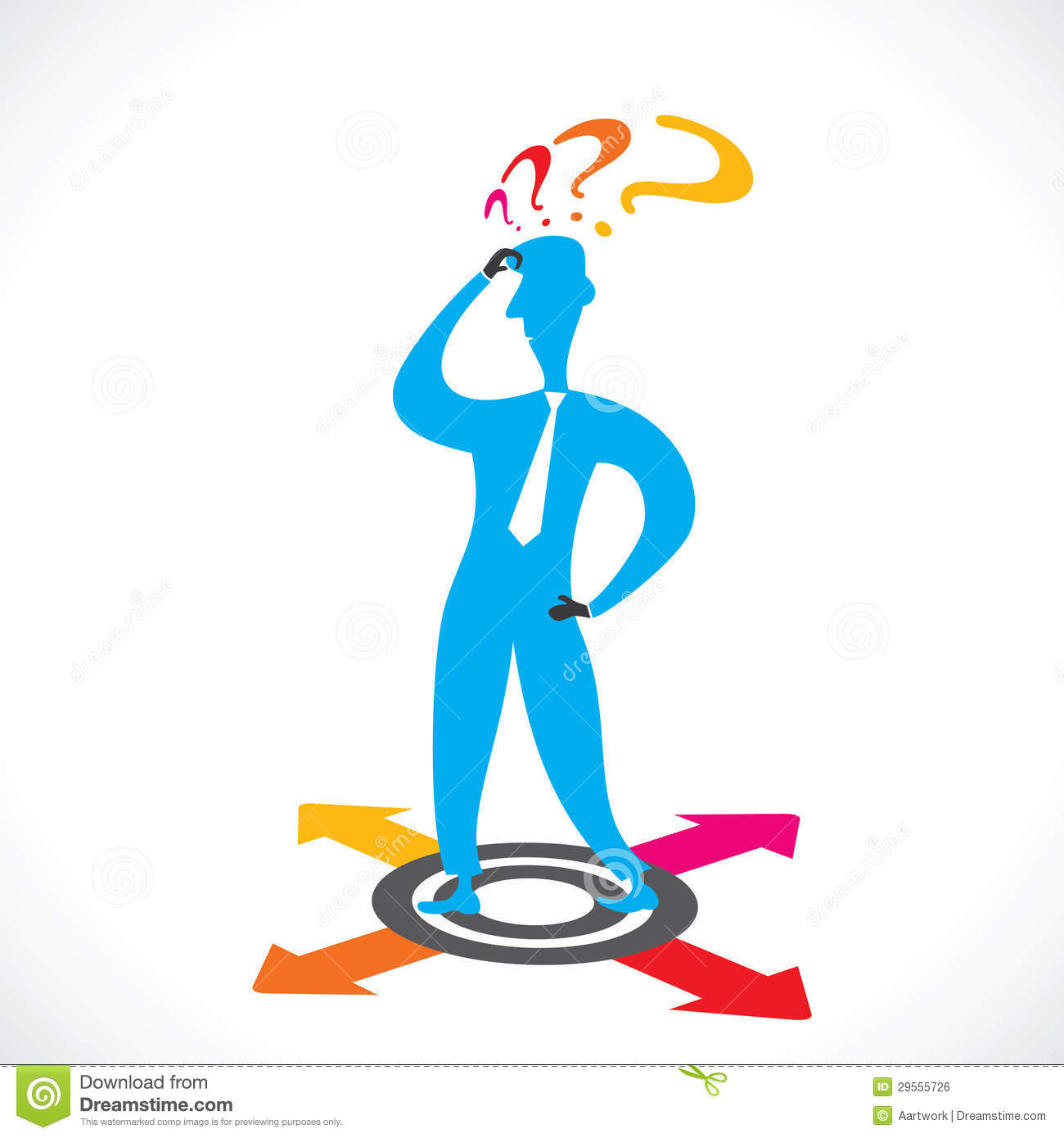 Choose Right Direction In Business Concept Stock Photo ...