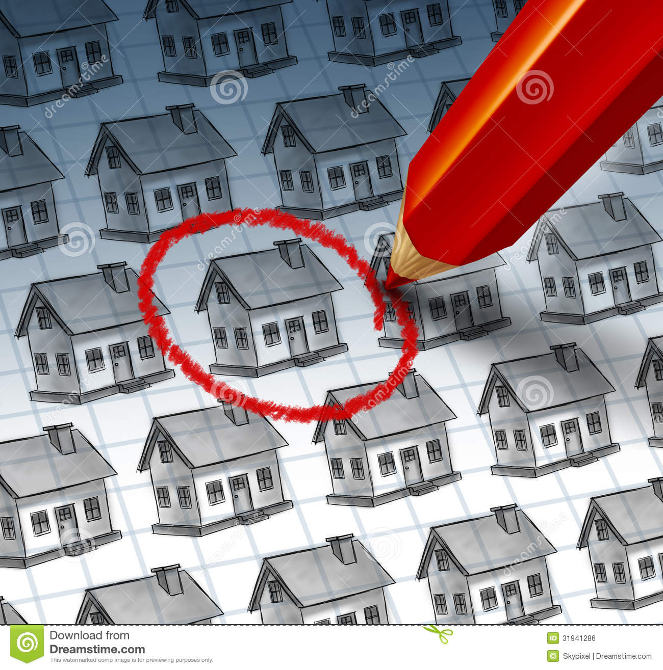 Choosing a home royalty free stock image image 31941286 Find a house